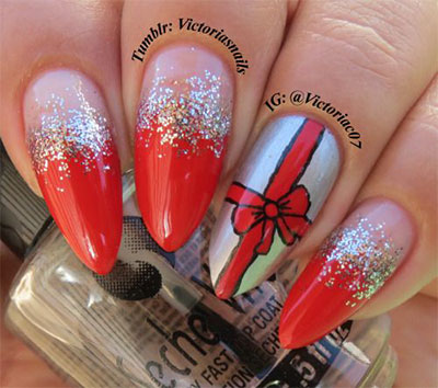 18-christmas-present-nail-art-designs-ideas-2016-xmas-nails-9