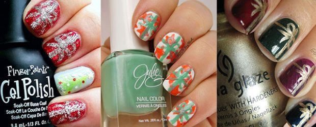 18-christmas-present-nail-art-designs-ideas-2016-xmas-nails-f