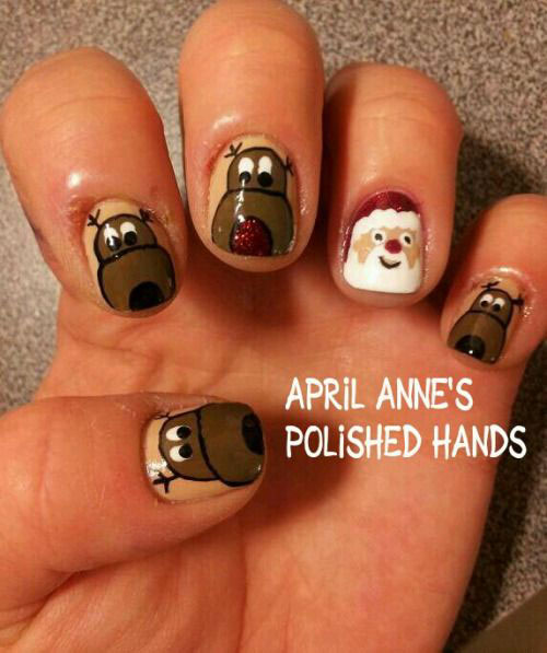 18-christmas-reindeer-nail-art-designs-ideas-2016-xmas-nails-10