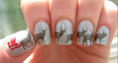 18-christmas-reindeer-nail-art-designs-ideas-2016-xmas-nails-16