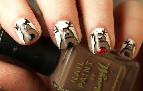 18-christmas-reindeer-nail-art-designs-ideas-2016-xmas-nails-5