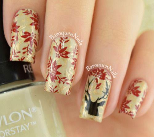 18-christmas-reindeer-nail-art-designs-ideas-2016-xmas-nails-8