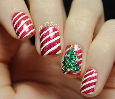 18-christmas-tree-nail-art-designs-ideas-2016-xmas-nails-13