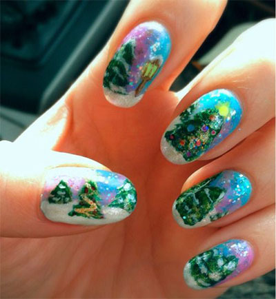 18-christmas-tree-nail-art-designs-ideas-2016-xmas-nails-16