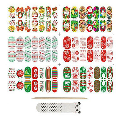 18-cute-christmas-nail-art-stickers-decals-2016-2