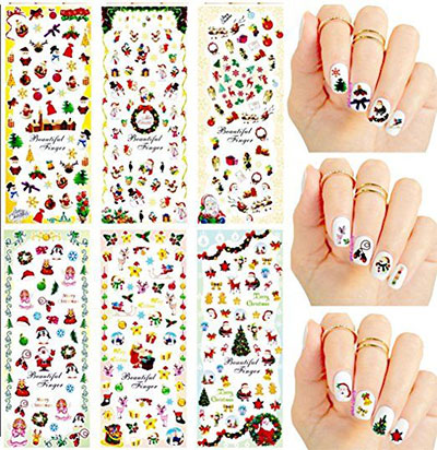 18-cute-christmas-nail-art-stickers-decals-2016-5