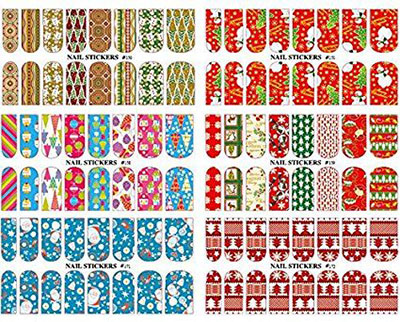 18-cute-christmas-nail-art-stickers-decals-2016-6