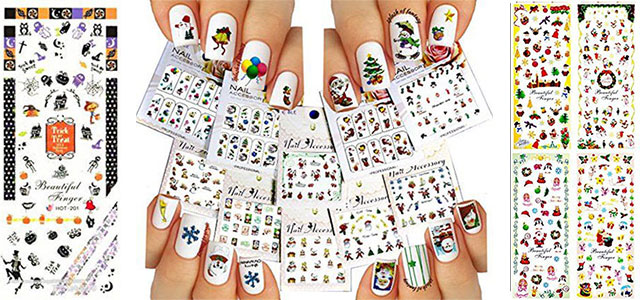 18-cute-christmas-nail-art-stickers-decals-2016-f
