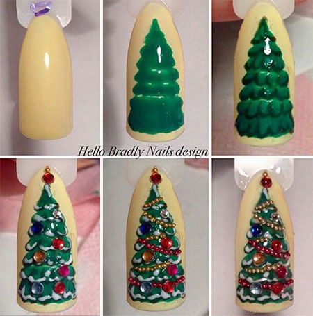18-easy-step-by-step-christmas-nail-art-tutorials-for-beginners-2016-5