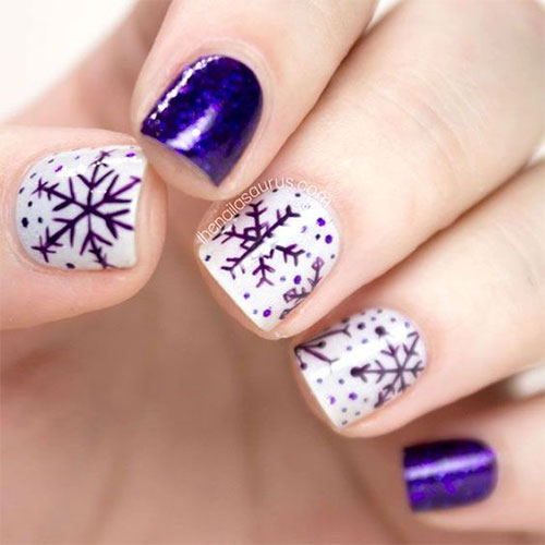 20-christmas-snowflake-nail-art-designs-ideas-2016-xmas-nails-10