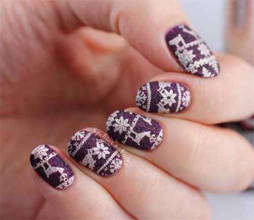 20-christmas-snowflake-nail-art-designs-ideas-2016-xmas-nails-16