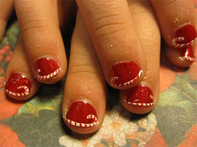 easy-cute-christmas-nail-art-designs-ideas-for-kids-2016-xmas-nails-2