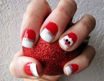 easy-cute-christmas-nail-art-designs-ideas-for-kids-2016-xmas-nails-6