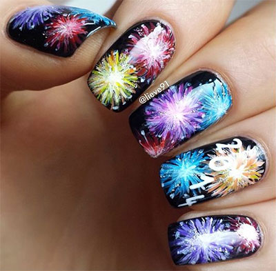 15-easy-simple-fireworks-nails-art-designs-ideas-2016-6