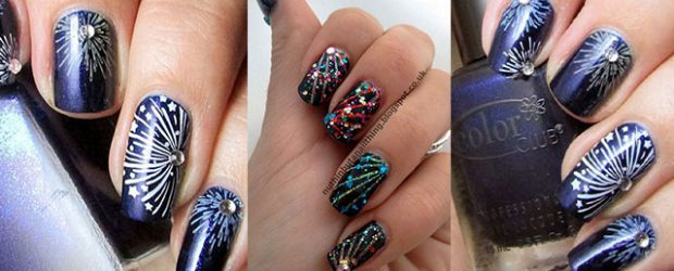 15-easy-simple-fireworks-nails-art-designs-ideas-2016-f