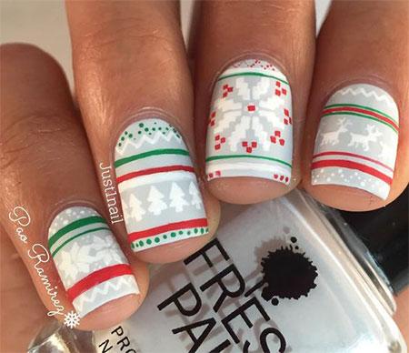 15-winter-sweater-nails-art-designs-ideas-2016-2017-6