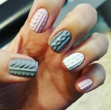 15-winter-sweater-nails-art-designs-ideas-2016-2017-7
