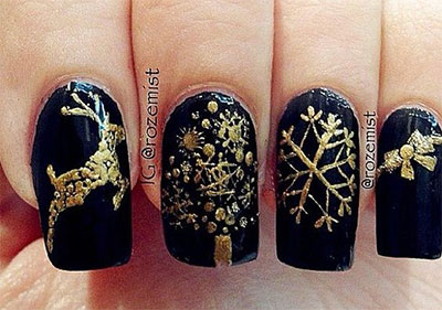 18-awesome-winter-black-nails-art-designs-ideas-2016-2017-15