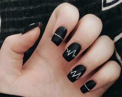 18-awesome-winter-black-nails-art-designs-ideas-2016-2017-16