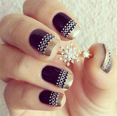 18-awesome-winter-black-nails-art-designs-ideas-2016-2017-17