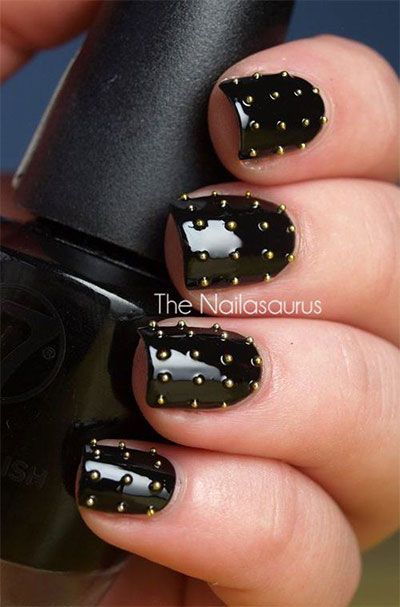 18-awesome-winter-black-nails-art-designs-ideas-2016-2017-4