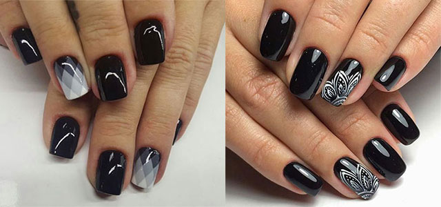 Nail designs for winter 2017 best nails 2018 18 awesome winter black nails art designs ideas 2016 2017 prinsesfo Images