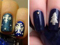 18 best winter acrylic nail art designs ideas  trends
