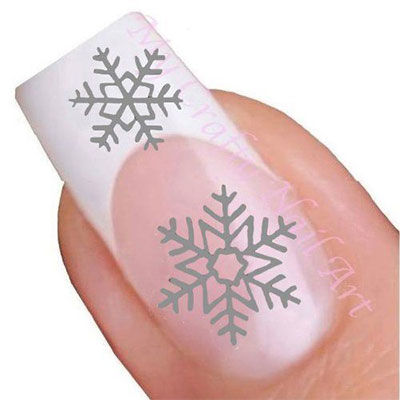 awesome-winter-nail-art-stickers-decals-2016-2017-7