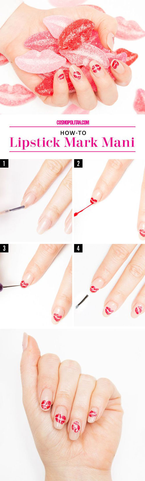 10-Step-By-Step-Valentines-Day-Nail-Art-Tutorials-For-Learners-2017-6