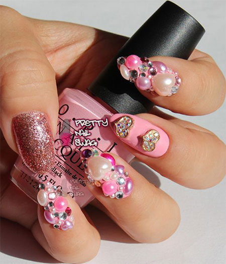 15-Cute-3d-Valentines-Day-Nail-Art-Designs-Ideas-2017-Vday-Nails-12