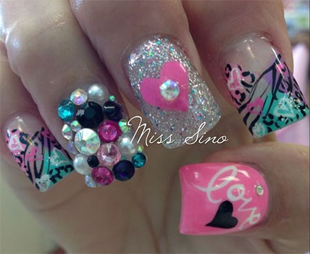 15-Cute-3d-Valentines-Day-Nail-Art-Designs-Ideas-2017-Vday-Nails-14