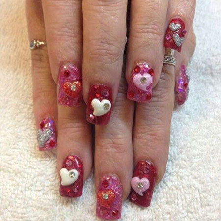 15-Cute-3d-Valentines-Day-Nail-Art-Designs-Ideas-2017-Vday-Nails-5