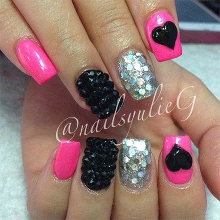 15-Cute-3d-Valentines-Day-Nail-Art-Designs-Ideas-2017-Vday-Nails-9