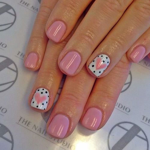 Nail Art Designs Ideas nail art design ideas 15 Easy Valentines Day Nail Art Designs Ideas