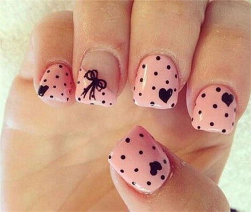 Nail Art Designs Ideas 48 best wedding nail art design ideas 15 Easy Valentines Day Nail Art Designs Ideas
