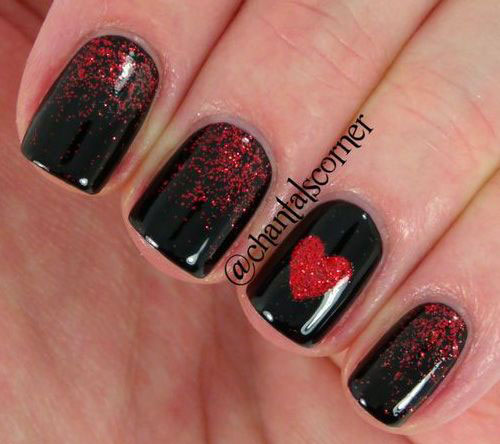 15 easy valentines day nail art designs ideas 2017 vday nails 15 easy valentines day nail art designs ideas solutioingenieria Choice Image