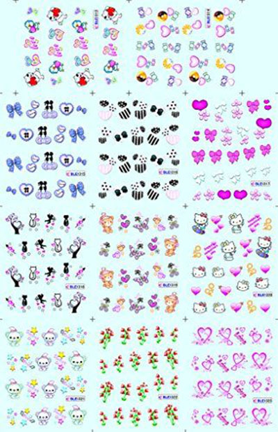 15-Valentines-Day-Nail-Art-Stickers-Decals-2017-15