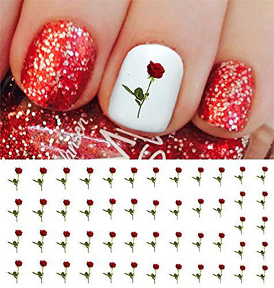 15-Valentines-Day-Nail-Art-Stickers-Decals-2017-6