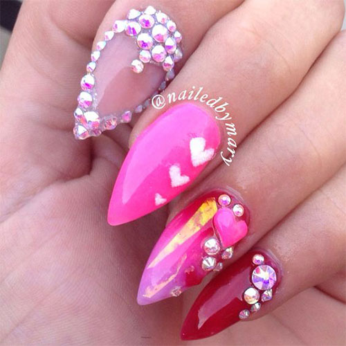 15-Valentines-Day-Pointy-Nail-Art-Designs-Ideas-2017-Vday-Nails-15