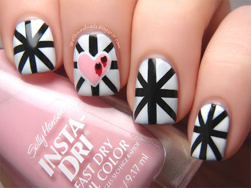 18-Anti-Valentines-Day-Nail-Art-Designs-Ideas-2017-1