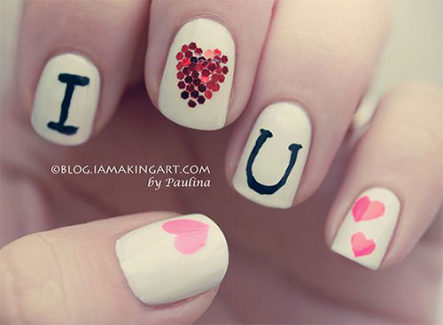 18-Cute-Romantic-I-Love-You-Nail-Art-Designs-Ideas-2017-Vday-Nails-14