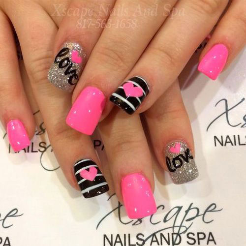 18-Cute-Romantic-I-Love-You-Nail-Art-Designs-Ideas-2017-Vday-Nails-2