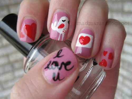 18-Cute-Romantic-I-Love-You-Nail-Art-Designs-Ideas-2017-Vday-Nails-7
