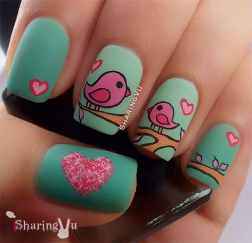 18-Cute-Romantic-I-Love-You-Nail-Art-Designs-Ideas-2017-Vday-Nails-9