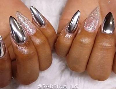15-Amazing-Silver-Mirror-Nail-Art-Designs-Ideas-2017-Chrome-Nails-5