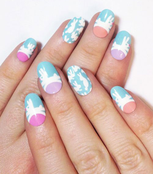15-Easter-Bunny-Nails-Art-Designs-Ideas-2017-1