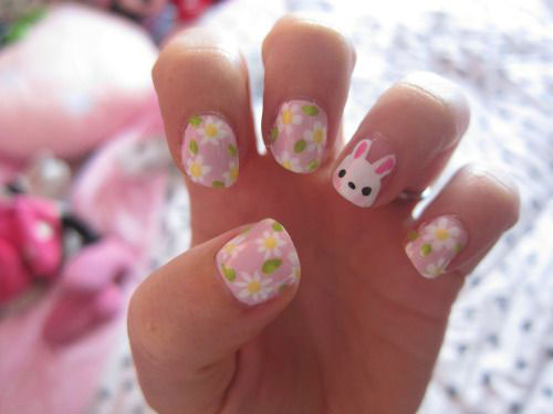 15-Easter-Bunny-Nails-Art-Designs-Ideas-2017-13