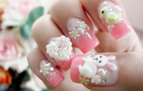 15-Easter-Bunny-Nails-Art-Designs-Ideas-2017-14