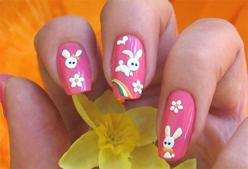 15-Easter-Bunny-Nails-Art-Designs-Ideas-2017-15