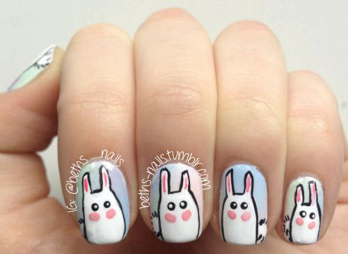 15-Easter-Bunny-Nails-Art-Designs-Ideas-2017-16